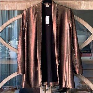 Zara sequin blazer